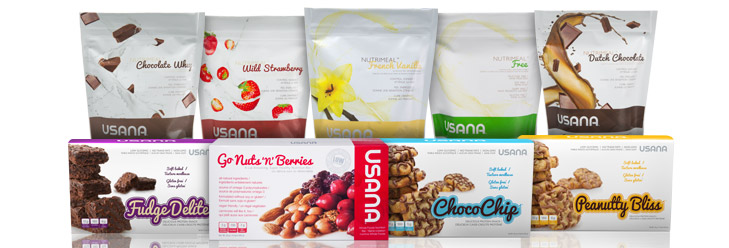 USANA Protein Snacks and Foods